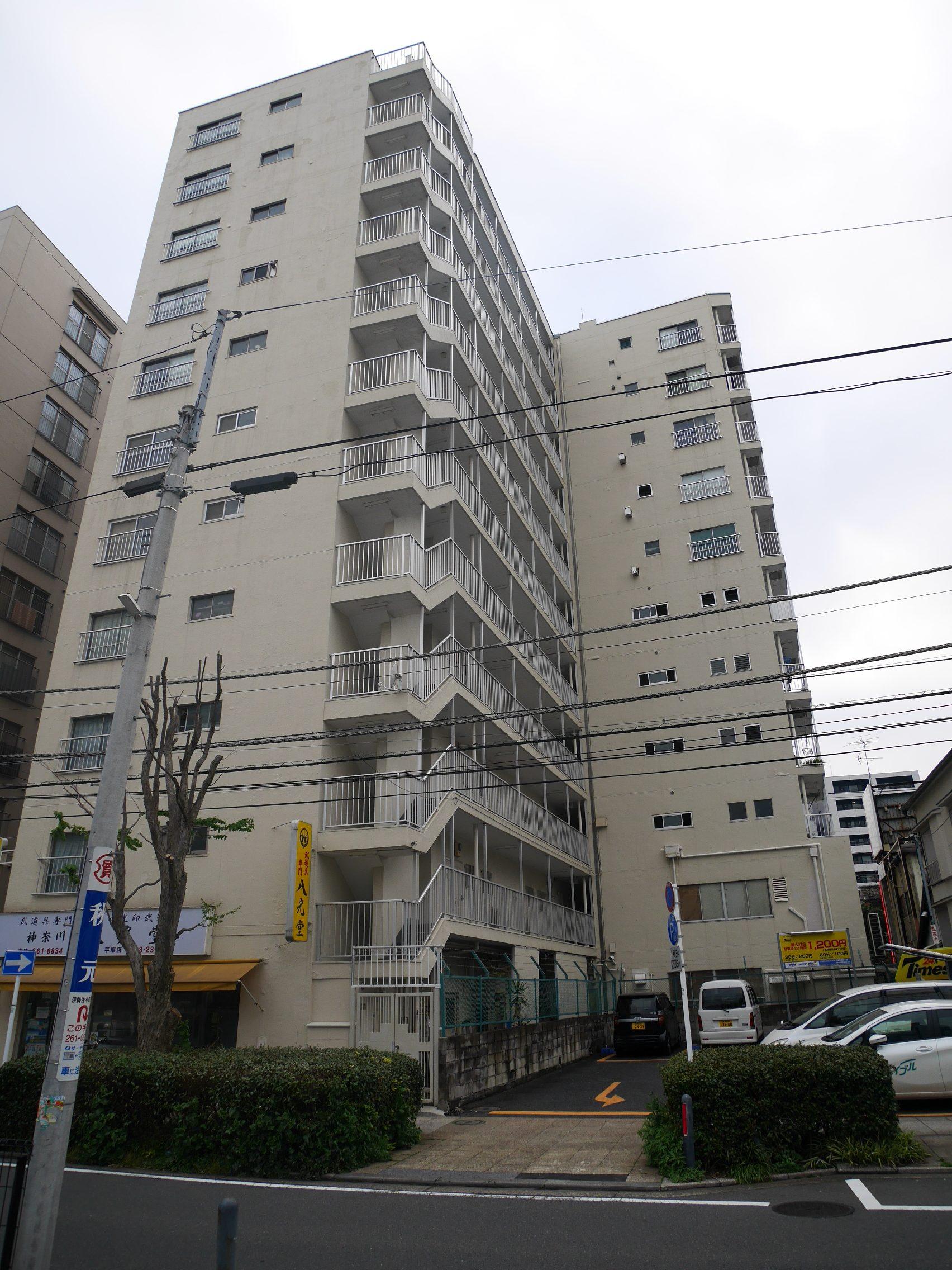 横浜市中区末吉町 区分マンション 4階-外観