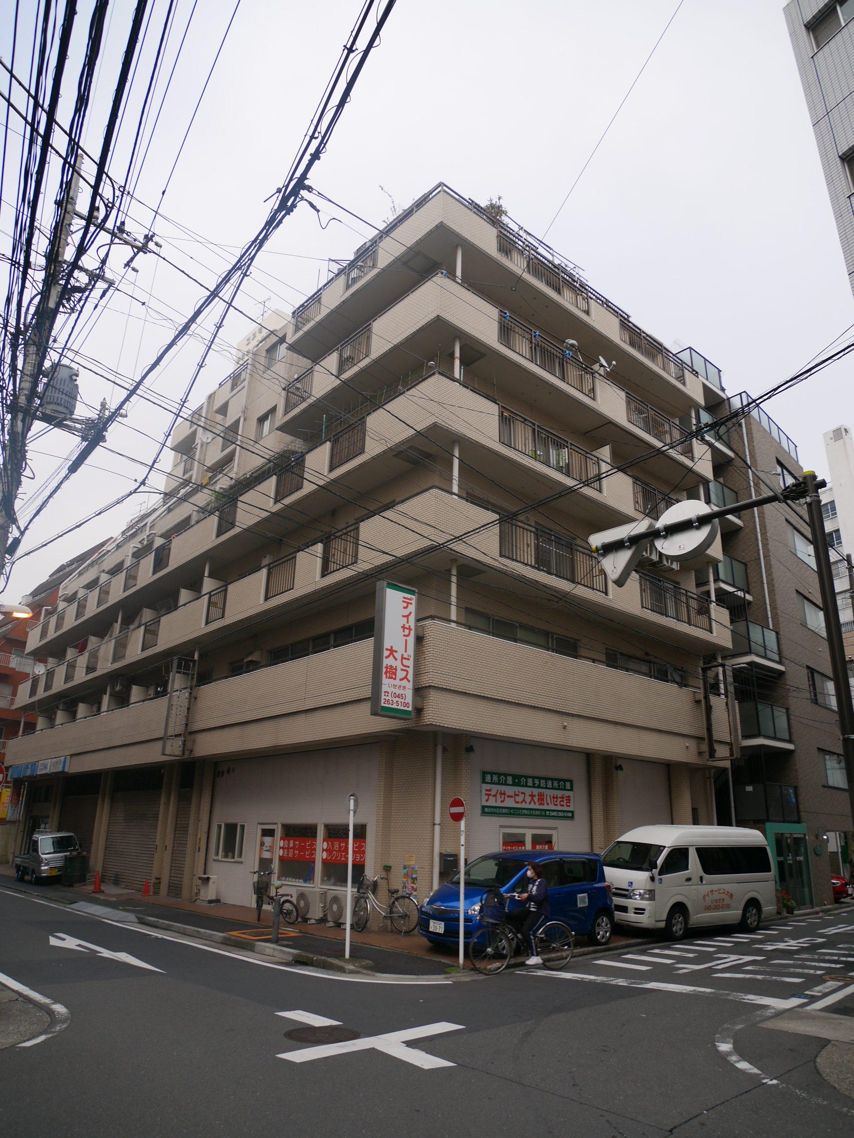 横浜市中区若葉町3丁目 区分マンション 5階4部屋-外観