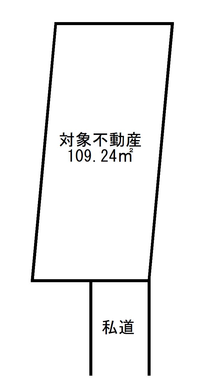 世田谷区用賀4丁目 売地-間取り