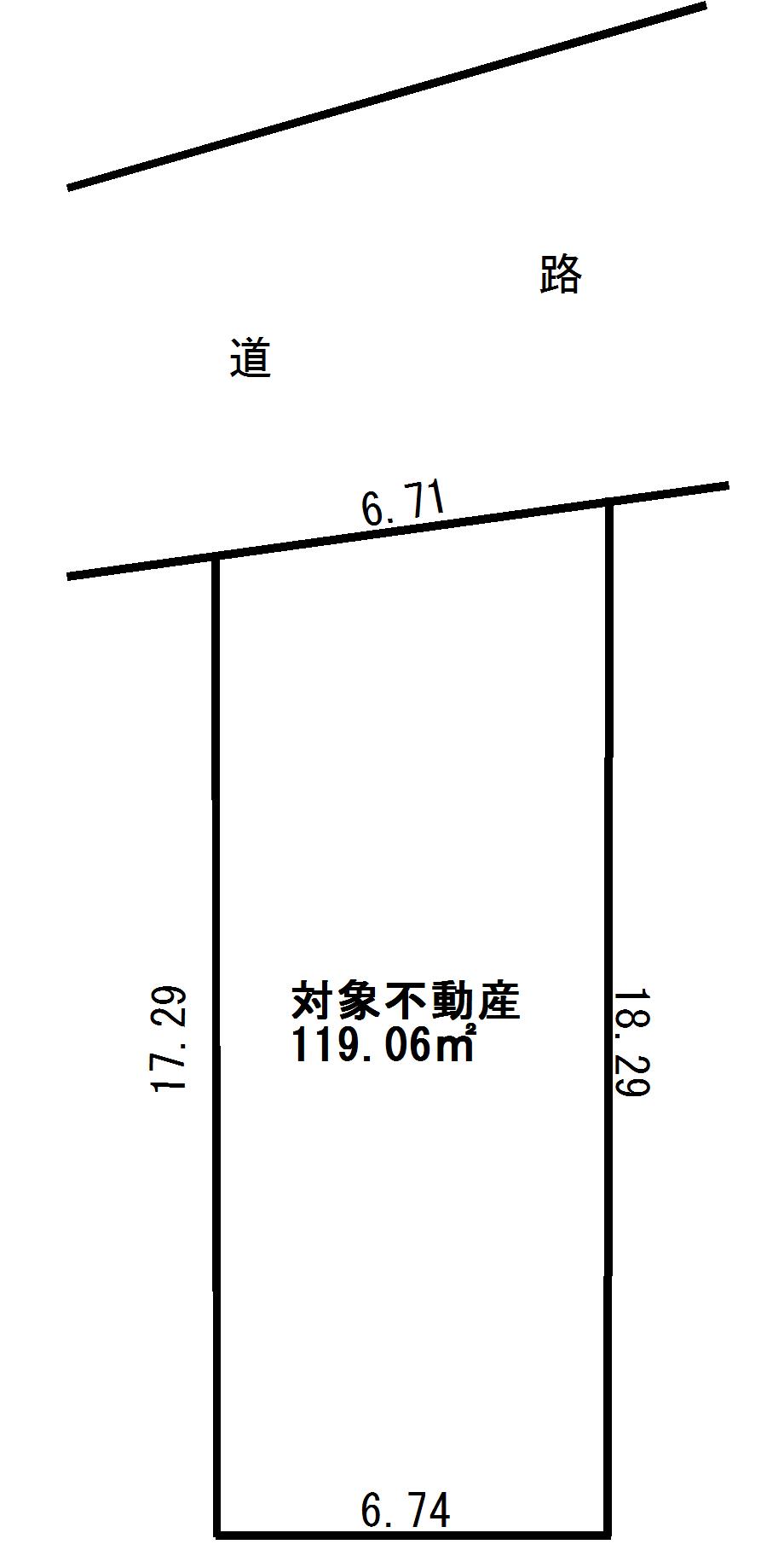 江東区亀戸3丁目 売地-間取り