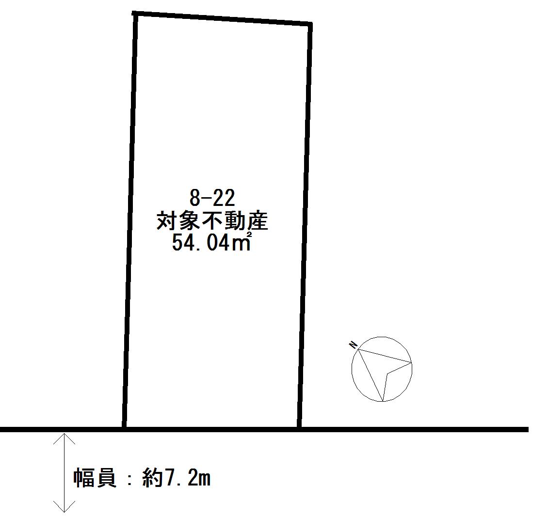 横浜市南区永楽町 売地-間取り