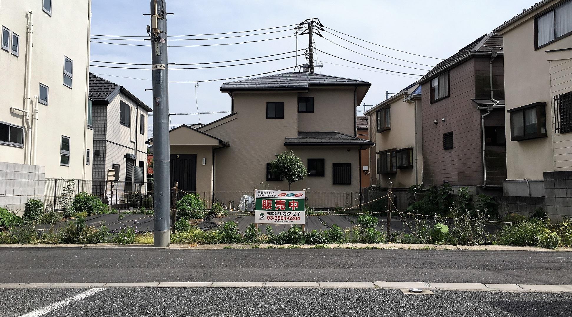 渋谷区西原2丁目 売地-外観