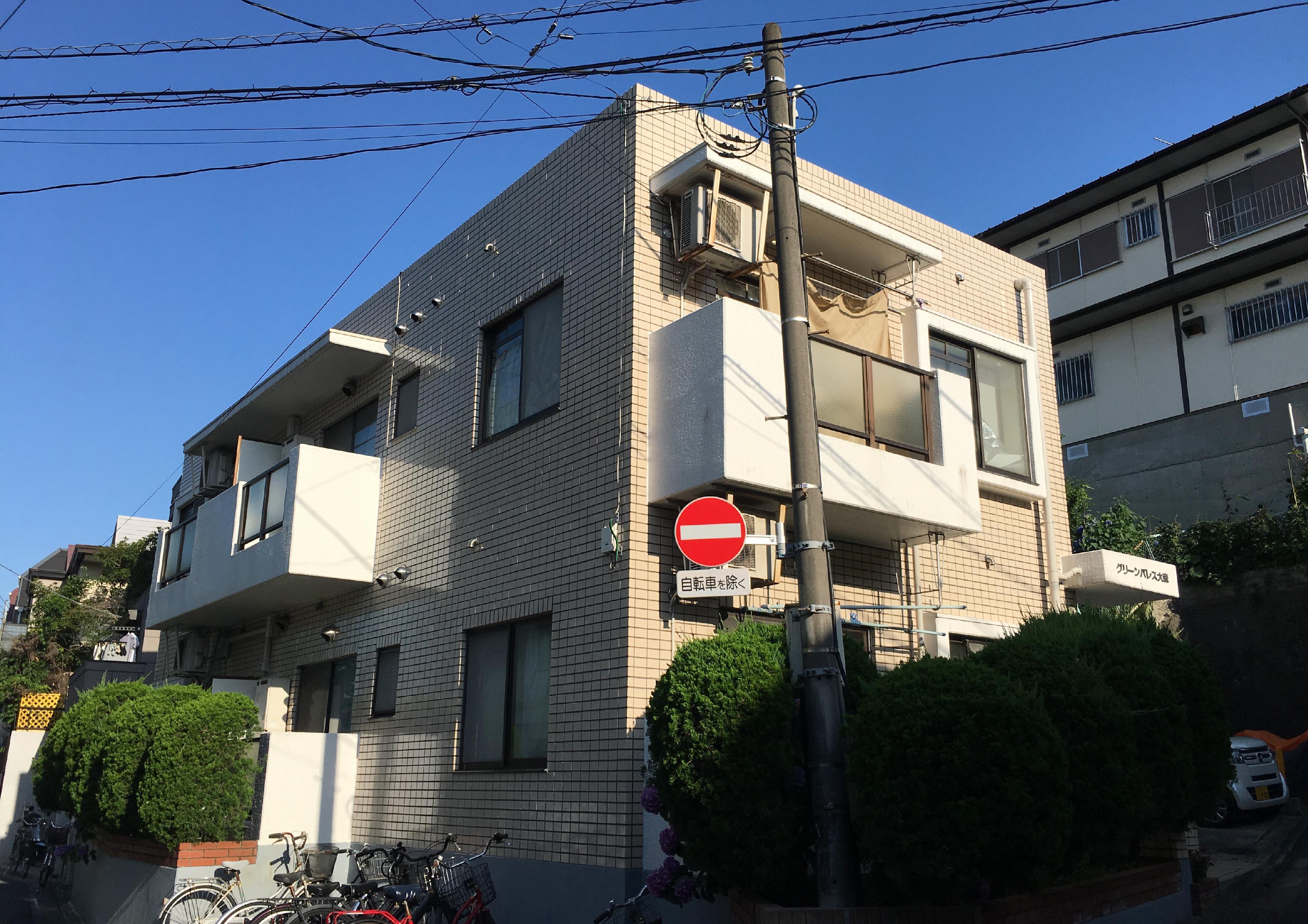 大田区南馬込3丁目 一棟マンション-外観