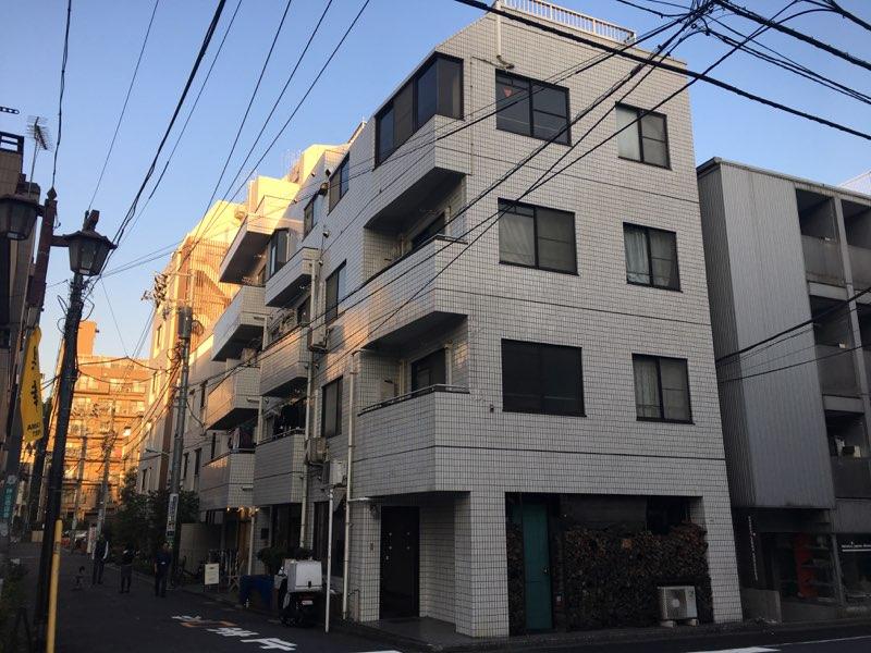 渋谷区神山町 一棟マンション-外観