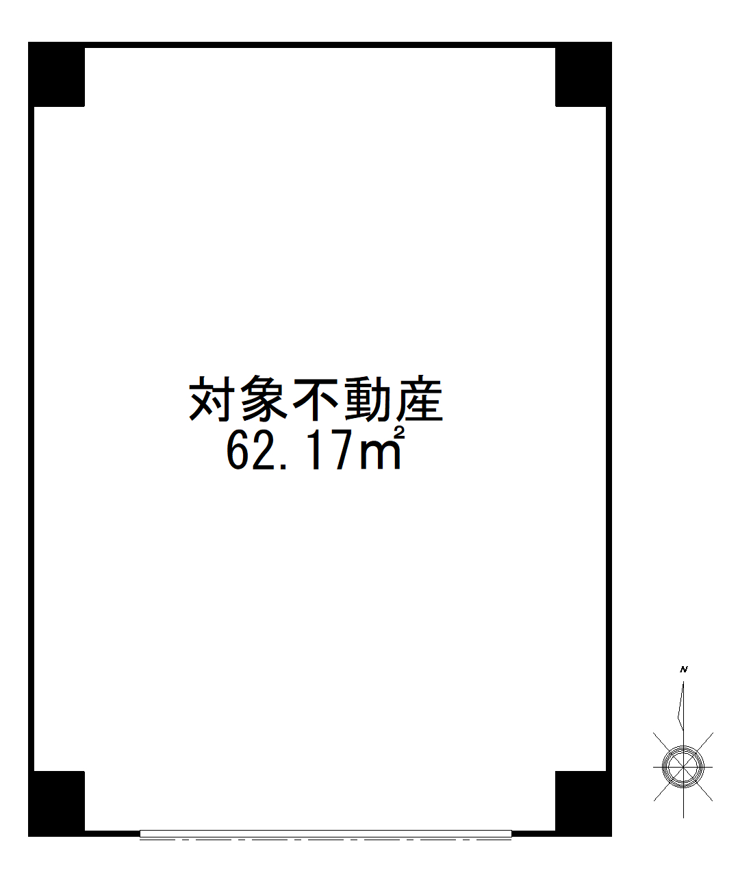墨田区本所2丁目 区分店舗-間取り