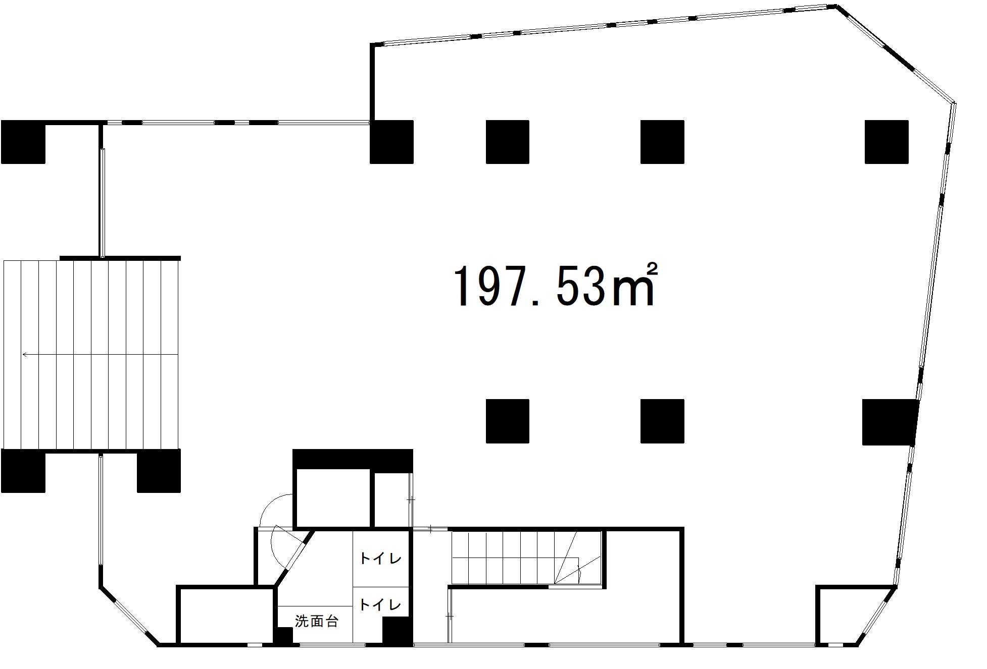 【☆売主物件☆】目黒区駒場1丁目 区分投資用マンション-間取り