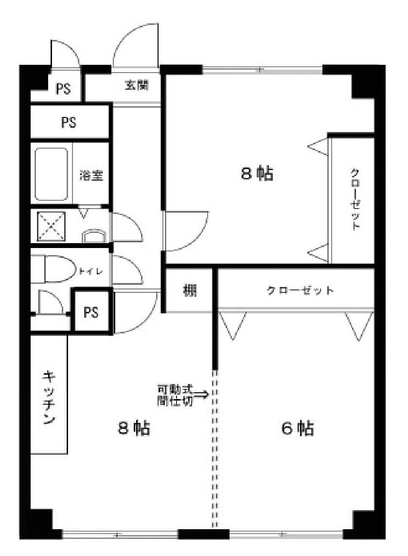 【☆売主物件☆】東京都武蔵野市境南町2丁目 区分マンション-外観