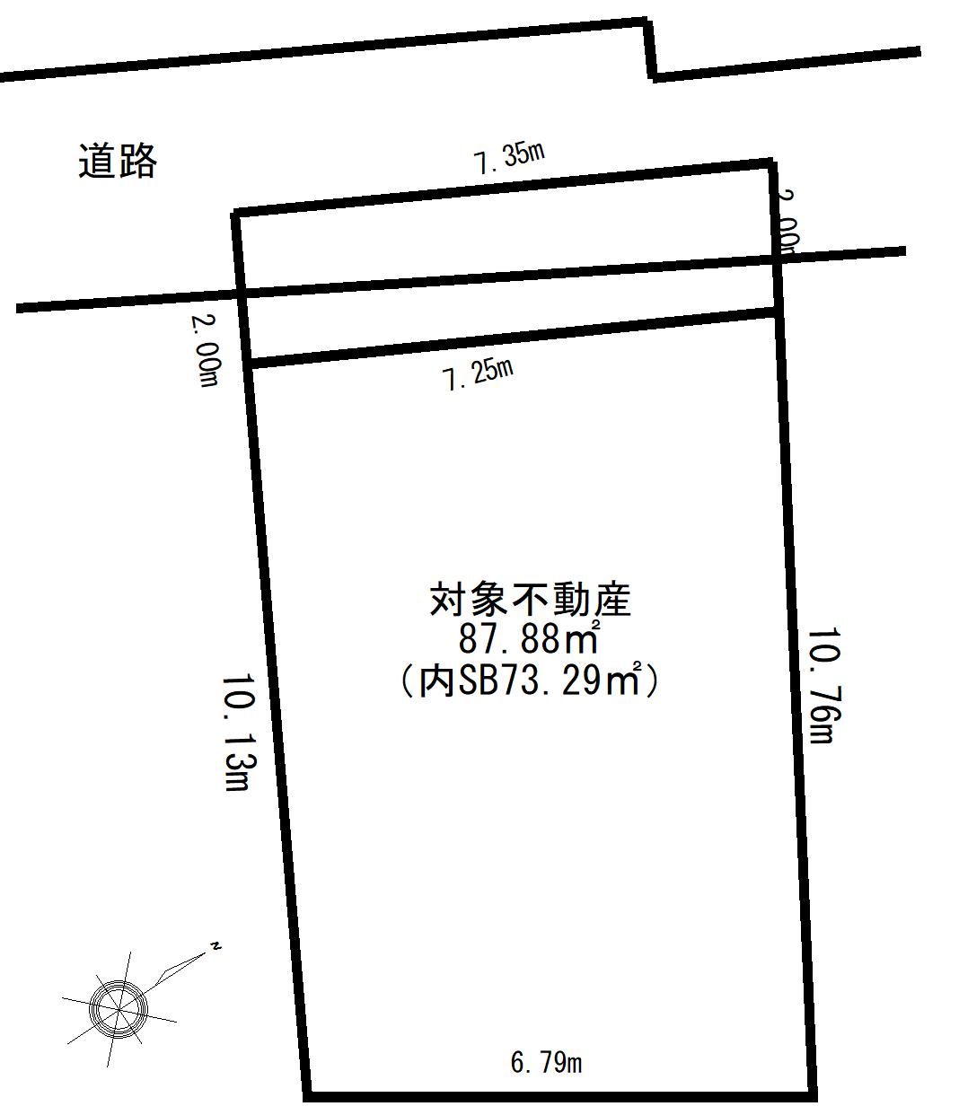 渋谷区上原三丁目 土地-間取り
